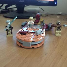 Lego Star Wars Luke Landspeeder set
