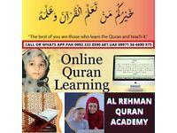 Online Quran teacher available