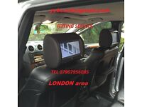 mobile CAR HEADRESTs SCREENs DVD FITTING SPECIALST INSTAL(with SRS modul removal) London area