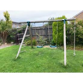 Plum swing, rope and ladder set