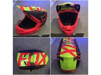 Fox rampage pro carbon full face mountain bike mtb helmet