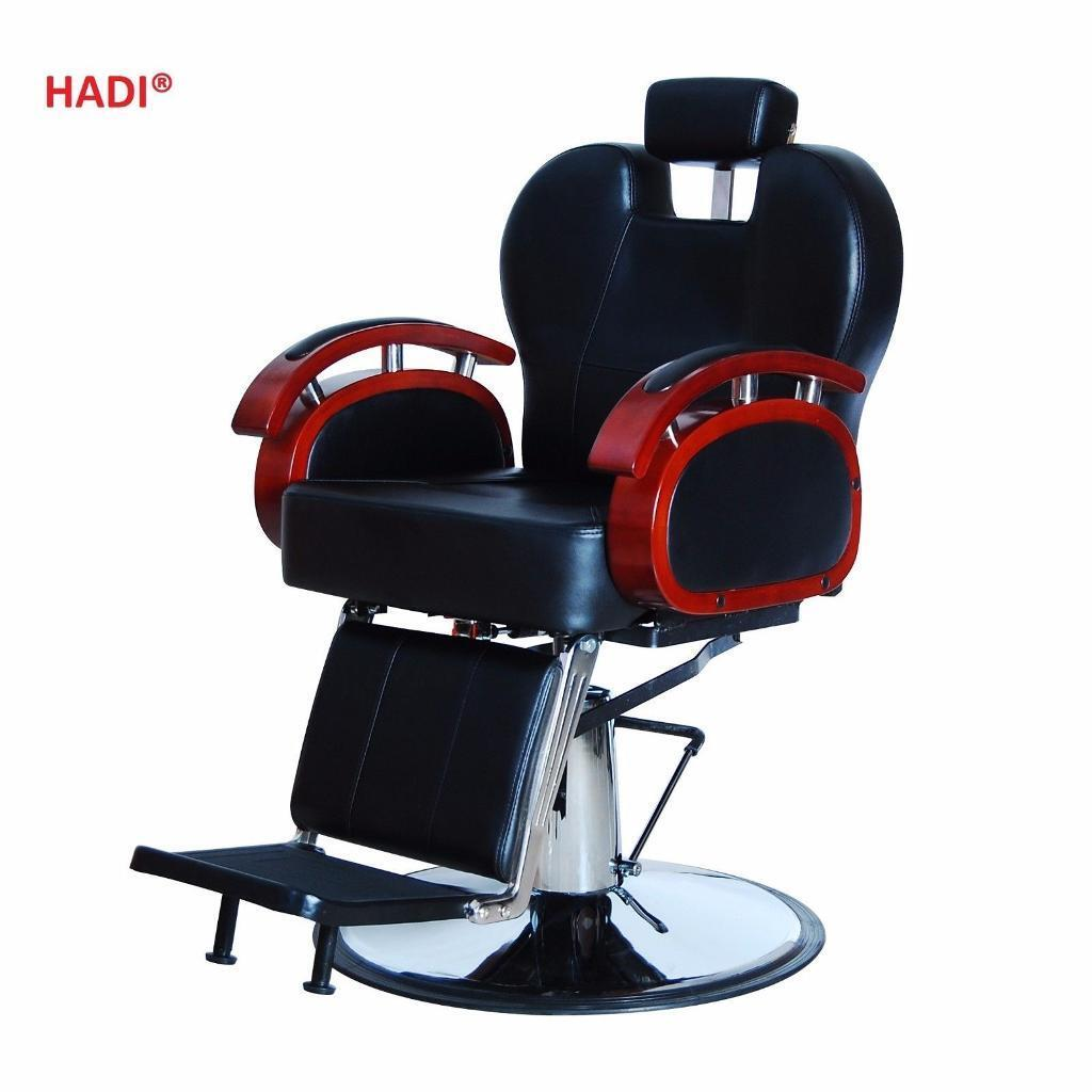 NEW HEAVY DUTY BLACK HADI® BARBER CHAIR BC-24,CASH ON COLLECTION ONLY