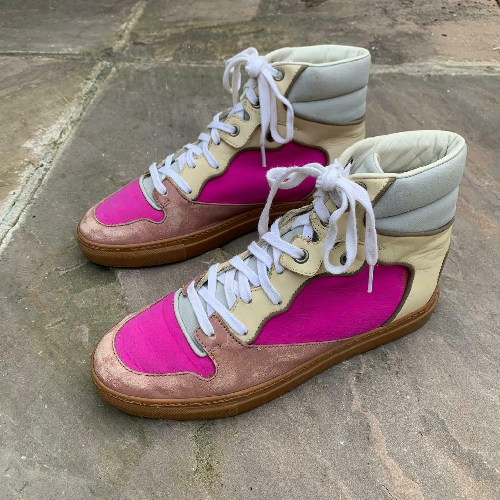 Balenciaga high top trainers size 4 | in Newham, London | Gumtree