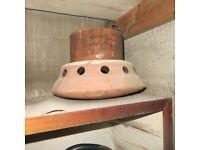 2 Terracotta Chimney Pots