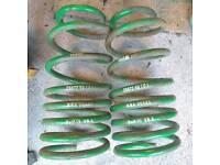 VR6 H&R springs Koni Dampers