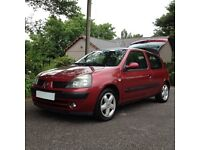 2006 RENAULT CLIO /LOW MILES/ HI SPEC/ ALLOYS/NEW MOT/ IDEAL SIZE RUN ABOUT