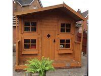 Rowlinson Outdoor Children's Playhouse