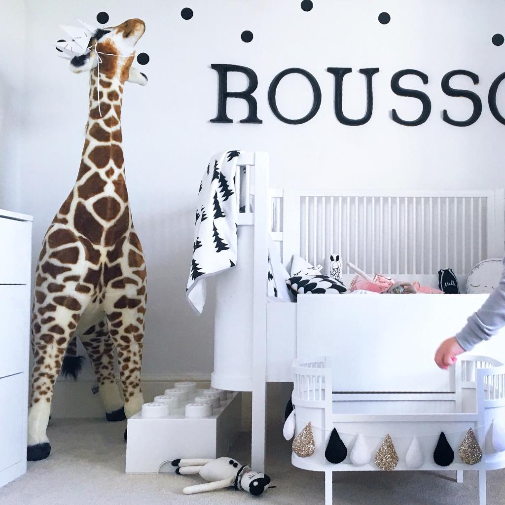 Melissa Doug Giant Stuffed Giraffe Toy Nursery Decoration