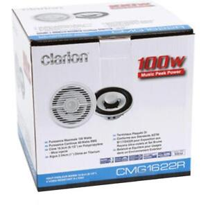 "Clarion Marine Audio Systems - CMG1622R 6.5"" 2-Way Marine Speaker (Pair) all new all in store and on Display"