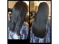 **HAIR EXTENSIONS!!** Micro Ring & Fusion Bonds.