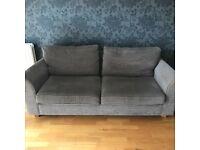 Grey next sofa
