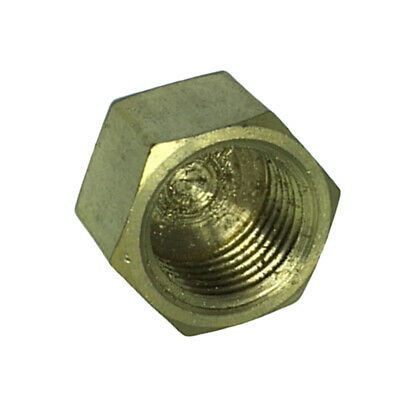 9.5mm Brass Pipe Cap Water Pipe For Plumbing Hardware Hotcold Water Supply