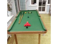 Snooker table (6ft)