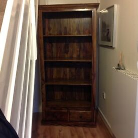 Nearly new bookcase