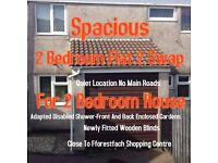 2 bedroom flat to swap to a 2bedroom house (council)