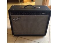 Fender Performer 650 amp, Effects pedal and leadsFender Performance 650