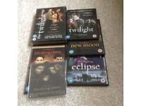 "Boxed set ""Twilight "" DVDs"