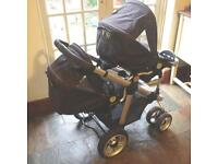 ICandy Pear Double Pushchair system