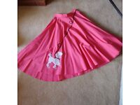 ROCK AND ROLL POODLE SKIRTS AND UNDERSKIRT