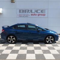 2015 Honda Civic Sedan SI 2.4L 4CYL FWD MANUAL Sunroof