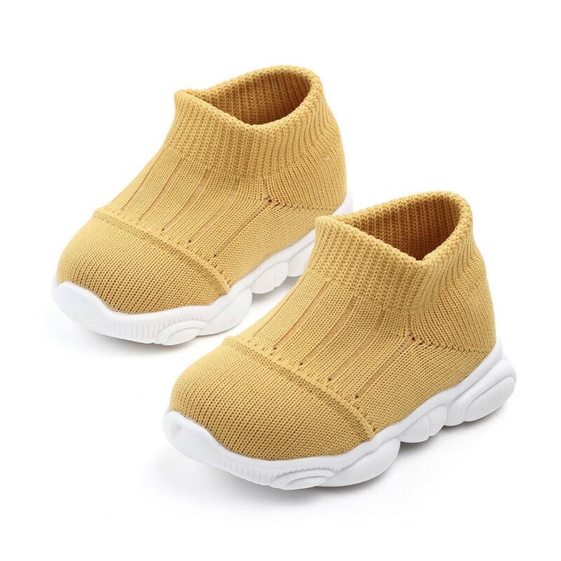 Toddler Kids Baby Girls Boys Sport Run Sneakers US