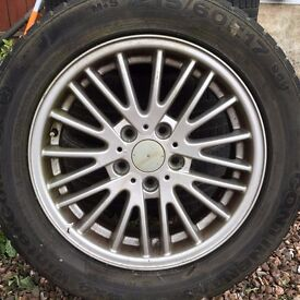 "BMW 17"" Alloy wheels will fit VW T5"