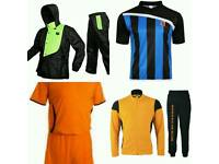 Football Kits & Boxing Gloves and clothing