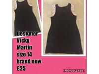 Brand new designer dress