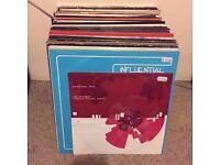 Job lot of 88 D&B records