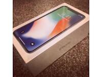 iPhone X / 256GB / Silver / Vodafone / BRAND NEW