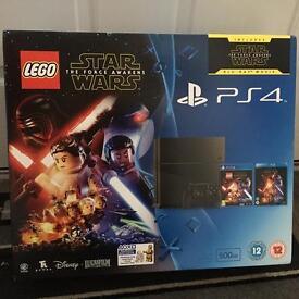Brand new still boxed PS4 lego Star Wars bundle