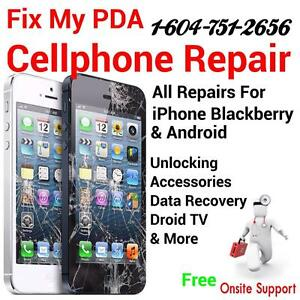 Cellphone Repair, Accessories and Unlocking