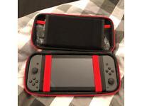 Nintendo Switch (Grey) - 1 Wireless, 1 Wired Controller - Dock - FIFA 18 / Mario Kart