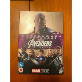 Marvel avengers infinity war dvd