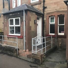 Recently refurbished one bed flat for rent in Galashiels