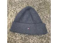 Tommy Hilfiger grey beanie hat