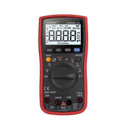 Multimeter An860b Lcd Digital Multi-tester Acdc 7501000v Ohm Tester