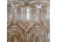 Free wine glasses and other crockery, assorted candles, tv aerial, herb and spice jars, inner tubes