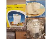 Haden zest juicer and mini chopper set