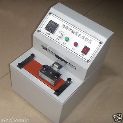 220v Printing Ink Durability Tester Printer Abraser Friction Testing Machine S