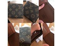 Louis Vuitton Wallet with lv logo