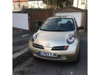 2003 NISSAN MICRA L LEFT HAND DRIVE WITH FULL SERVICE AND MOT WITH LOW MILES