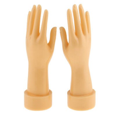 2x Mannequin Hands Arm Display Base Gloves Jewelry Store Window Model Stands