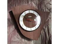French Vintage Design Wall Clock, Bayard France