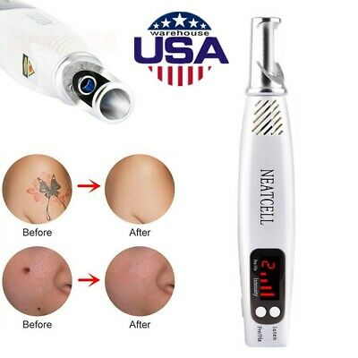 Red Light Picosecond Laser Tattoo Removal Pen For Mole Dark Spot Acne Scar Home