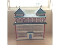 Decorative Hand Made Colourful Birdcage Pet Cage Doll House