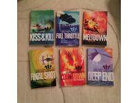 6 Sam Hutton special agent books