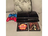 Playstation 3 60gb (plays ps1 and ps2 games)