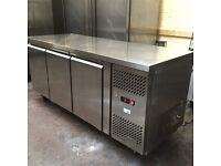 Interlevin bench fridge, under counter commercial, nearly new!!