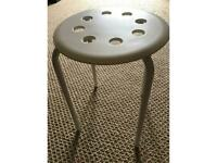 Ikea white stool